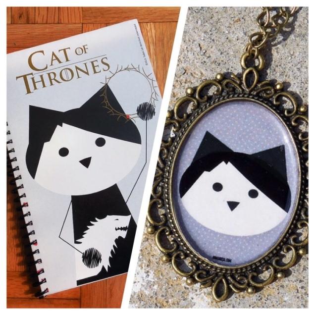 Shop-Etsy-PonjaHija-Game-of-Thrones-Cats-Cameo